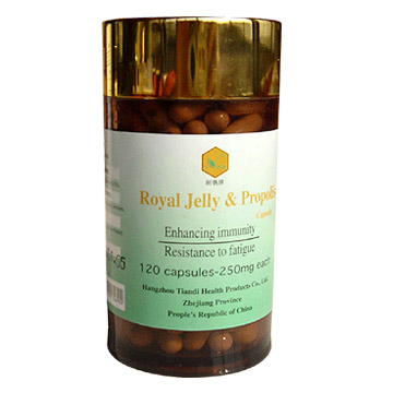 Royal Jelly & Propolis Capsules