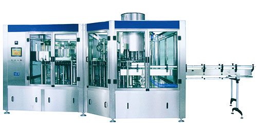 Automatic Rinsing Filling Capping Machine