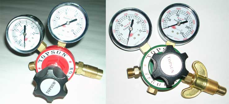 Oxygen Regulator-Acetylene Regulators