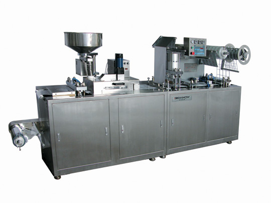 Flat-plate Al/PVC Blister Packing Machine