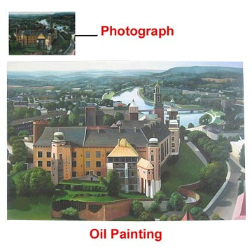 Oil Paintings from Photograph - Landscapes