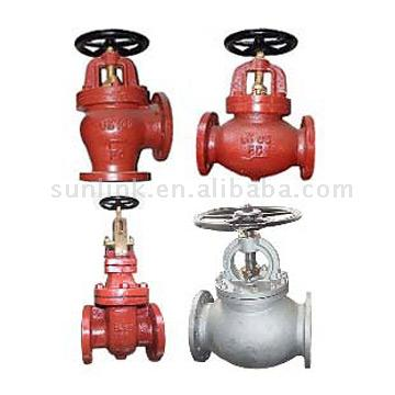 Cast Iron - Cast Steel Marine Valves