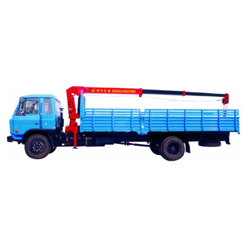 Truck Mounted Crane (Straight Boom)