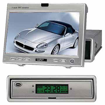 "7"" In-Dash Car TFT LCD Monitors"