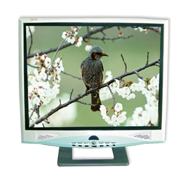 "12"" TFT LCD Color TV with Monitor Functions"