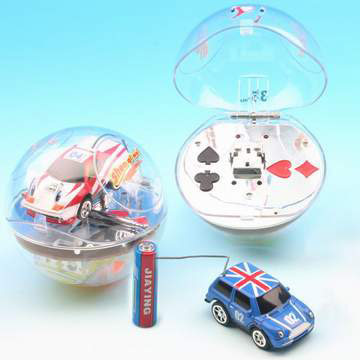 Crystal Ball Mini Cars