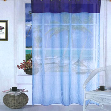 Combination Curtain with Rings