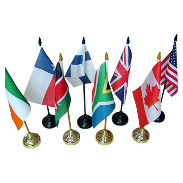 Polyester Table Flags