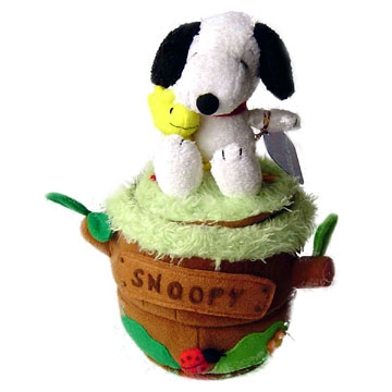 Revolving Music Box with Snoopy