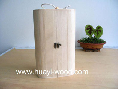 wooden wine box, wood gift box