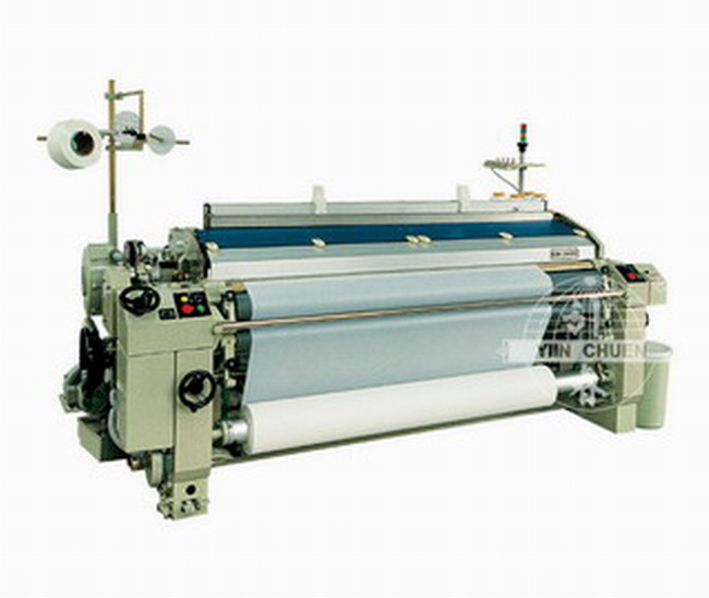 Single Nozzle Plain Shedding Water-Jet Loom