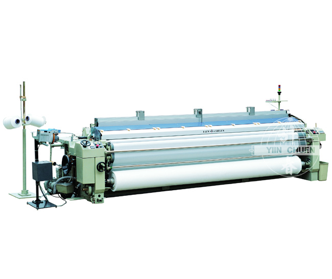 Single Nozzle Plain Shedding Water-Jet Loom With Electronic Measuring&Storage System