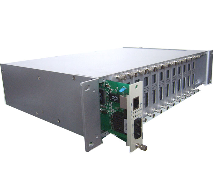 APT-CPS2-MC16 Media Converter Rack Mount