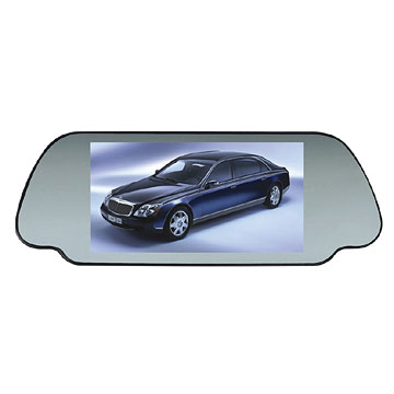 7 Rear View Mirror LCD Monitor