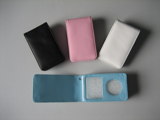 IPOD/PDA leather case