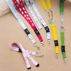 Multi-Colored PVC And Nylon Printed Lanyards