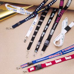 Multi-colored Polyester Printed Lanyards