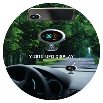 UFO Display Parking Sensor System