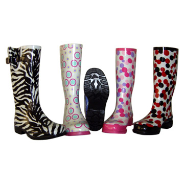 Fashion Style Rubber Boots
