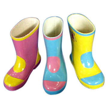 Kids Style Rubber Boots