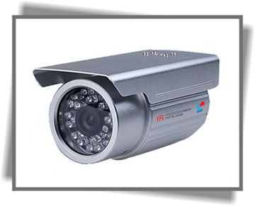 JVE-918 IR waterproof CCD camera