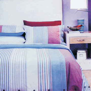 Yarn Dyed Cotton Bedding Sets