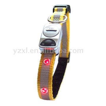 FLASHING PET DOG COLLAR(FC-211R)