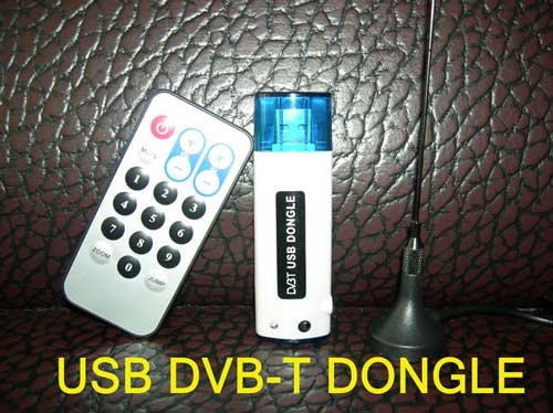 Usb Dvb-t Receiver 2.0 Stick New