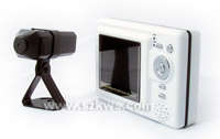 2.4 GHz Wireless LCD Monitor Receiver built-in Video Audio Recorder