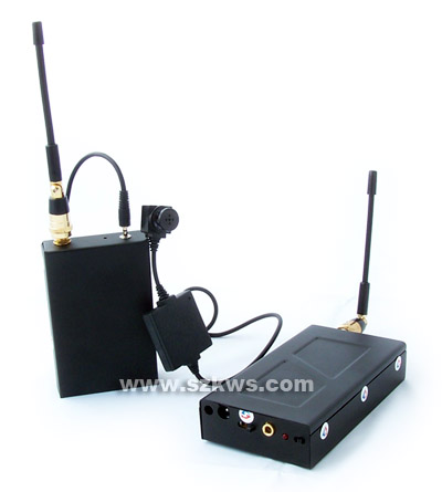 Wireless Color CCD spy hidden button camera