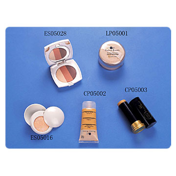 Loose Powders, Cover Stick, Foundations