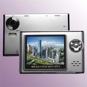 MP4 player with Camera