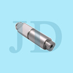high carbon steel custom processed non-standard bolt with centre hole made by cnc turning,drilling,grinding and milling