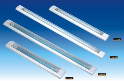 T8 fluorescent lamp fitting