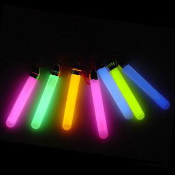 Glow-in-the-Dark Sticks with Lanyards