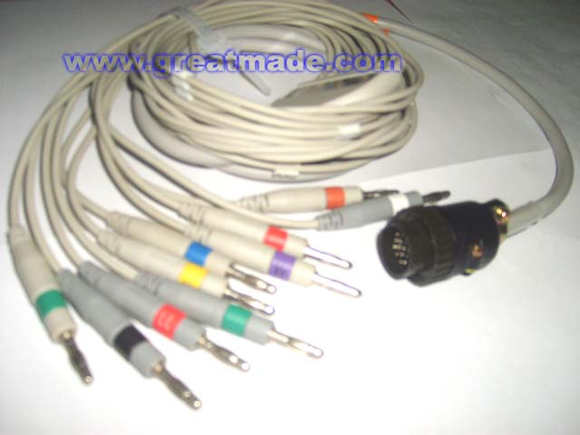 EKG cable and leadwires