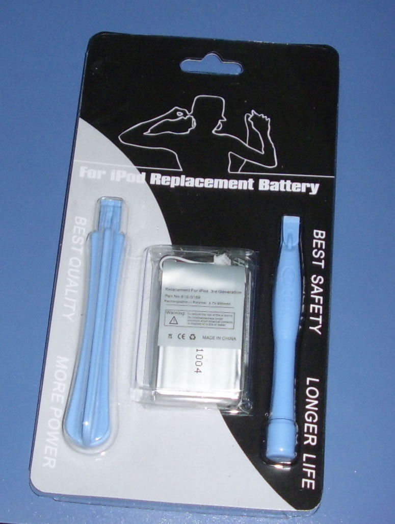 iPod replacement battery