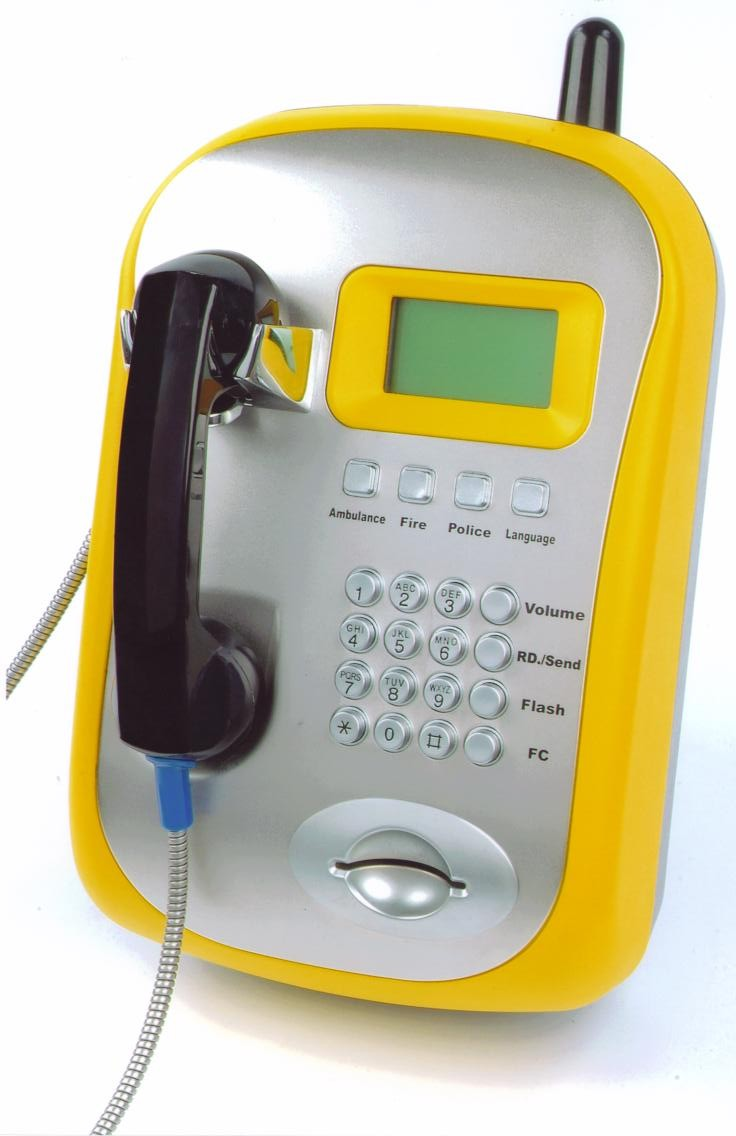GSM Wireless Card Payphone