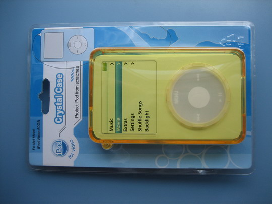 crystal case for ipod video 3