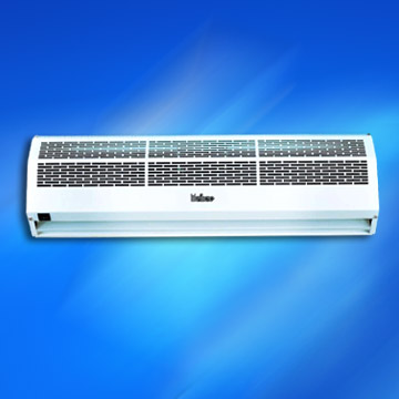 Super Thin Air Curtains with Large Airfl