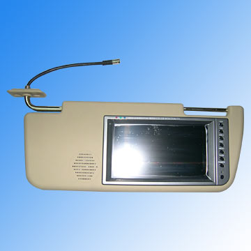 "7"" Sun Visor TFT-LCD Color TV"