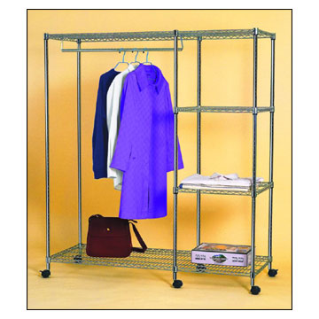 Wire Mesh Clothes Rack
