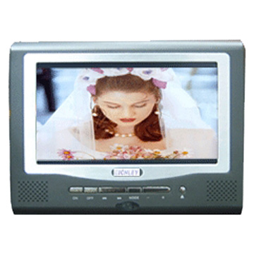 7 TFT Flat Screen Car DVD Players