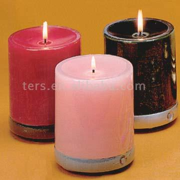 CD Music Candles