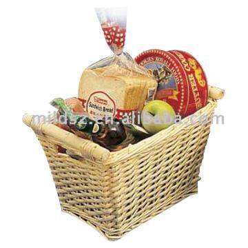 Natural Willow Gift Baskets