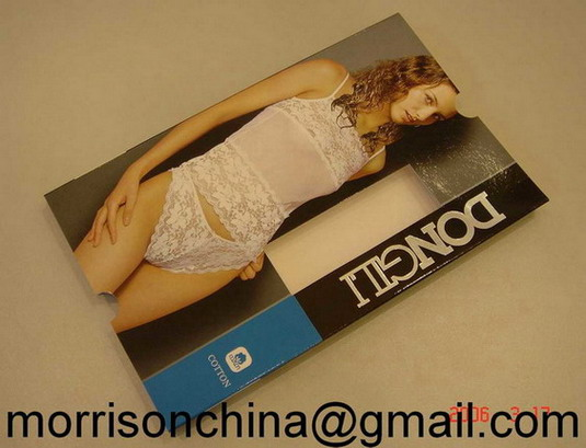 Paper Box for Underware Garment Made in China