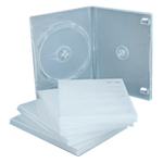 Transparent Double DVD Case
