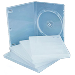 Transparent Single DVD Case
