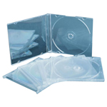 5.2mm Transparent Slim CD Case
