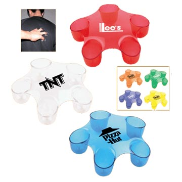 Massager as promotional gifts, advertising items or giveaways